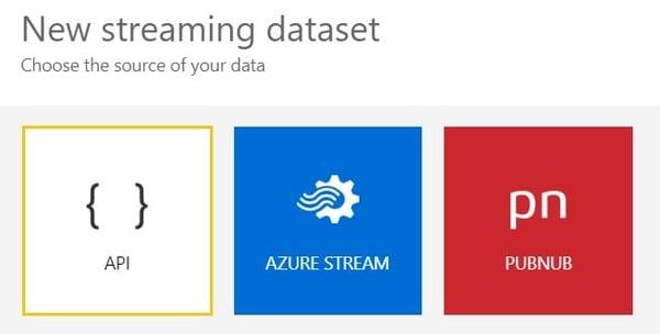 Power BI Streaming Dataset Source