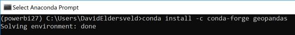pbi-geocode-python-geopandas-install