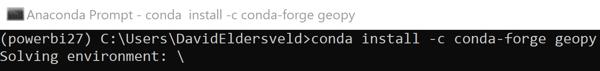 pbi-geocode-python-geopy-install