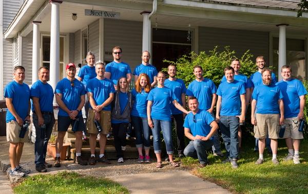 BlueGranite Day Of Service in Kalamazoo, MI