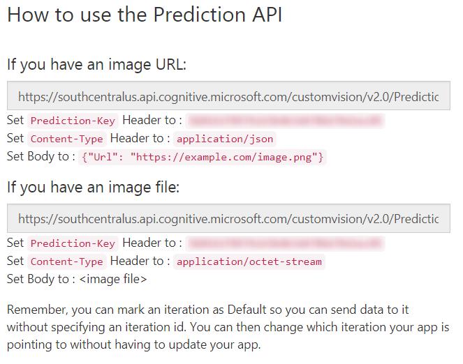 CustomVision-PredictionAPI