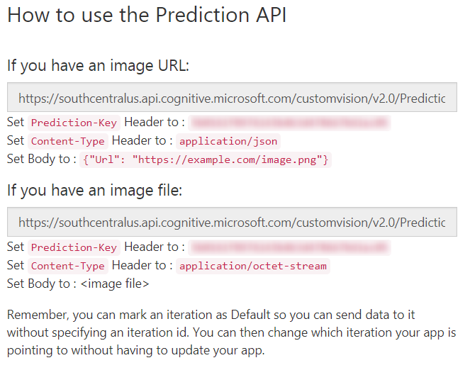 CustomVision-PredictionAPI