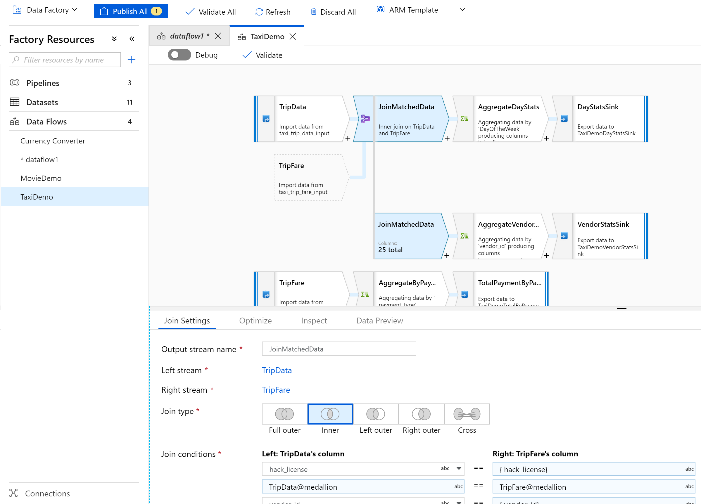 Azure Data Factory adds SSIS-Inspired Visual Data Transformation