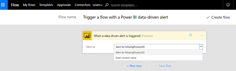 Self-Service BI: Improving Data Quality using Power BI, Flow