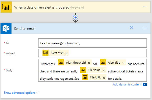 FROM ALERTS TO ACTIONS: POWER BI ALERTS AND MICROSOFT FLOW