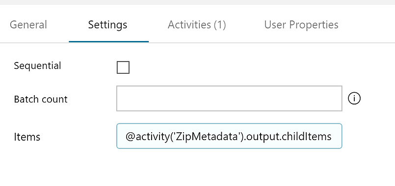 Using Azure Data Factory V2 Activities & Dynamic Content to