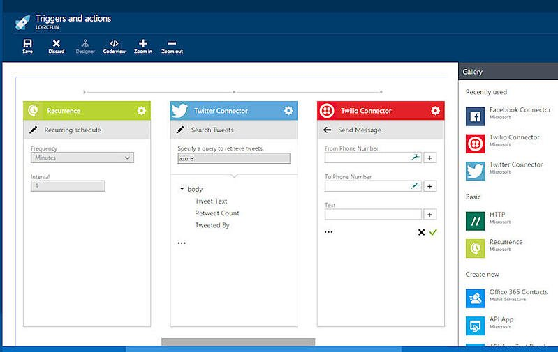 External Data Made Easy with Microsoft Azure Logic Apps