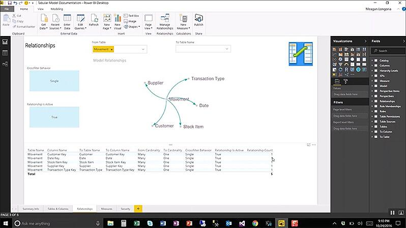 Demo Day: Document Your Tabular Model with Excel or Power BI
