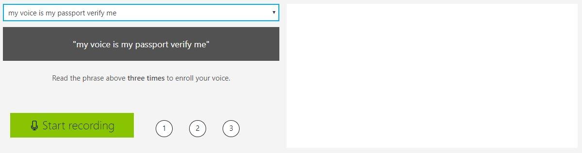 speaker recognition API demo