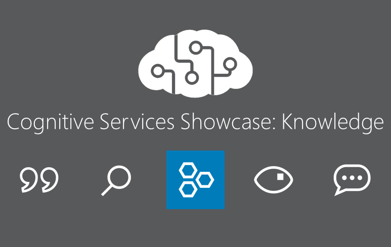 Cognitive Services Showcase: API Knowledge Tools