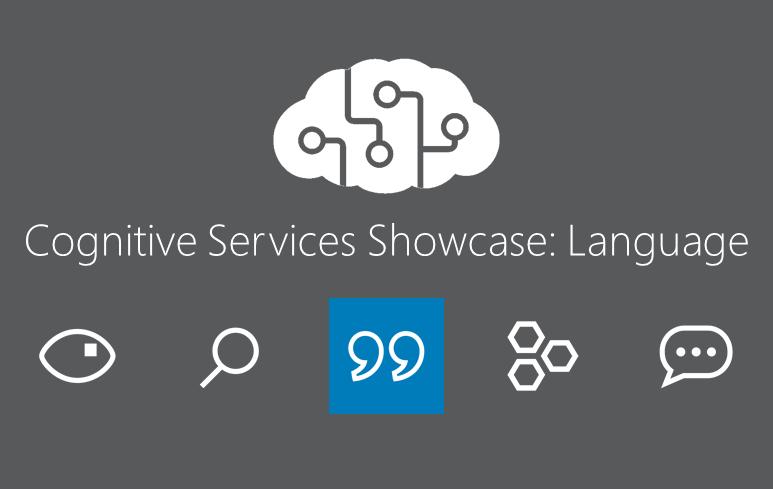 Cognitive Services Showcase: API Language Tools