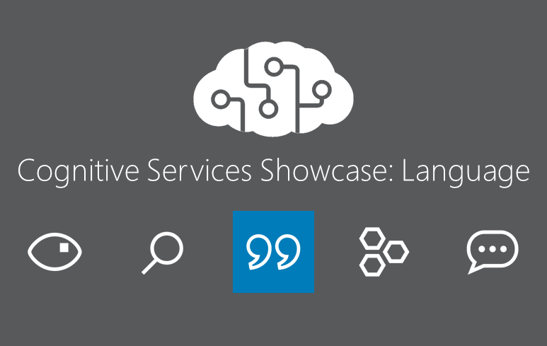 Cognitive Services Showcase: API Language Tools