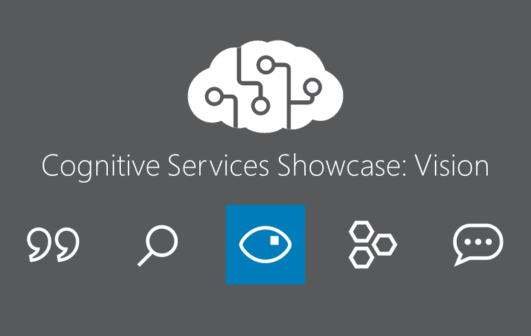 Cognitive Services Showcase: API Vision Tools