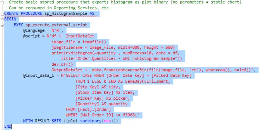 Tutorial - Microsoft R - SQL Server R Services